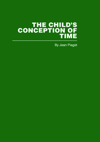 The Child's Conception of Time book cover