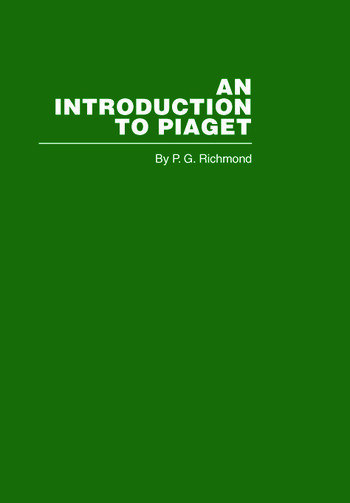 Introduction to Piaget book cover