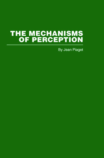 The Mechanisms of Perception book cover