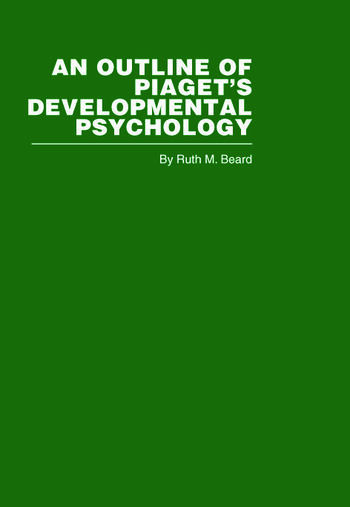 An Outline of Piaget's Developmental Psychology book cover