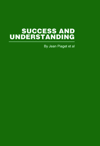Success and Understanding book cover