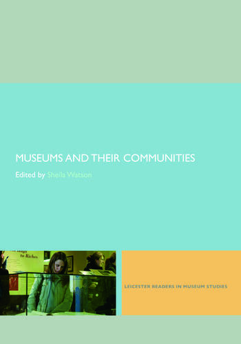 Museums and their Communities book cover