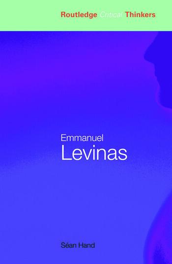 Emmanuel Levinas book cover