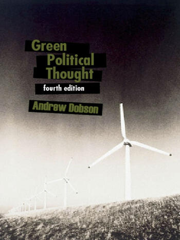 Green Political Thought book cover