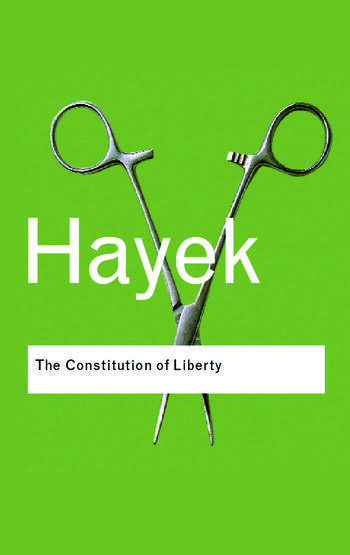 The Constitution of Liberty book cover