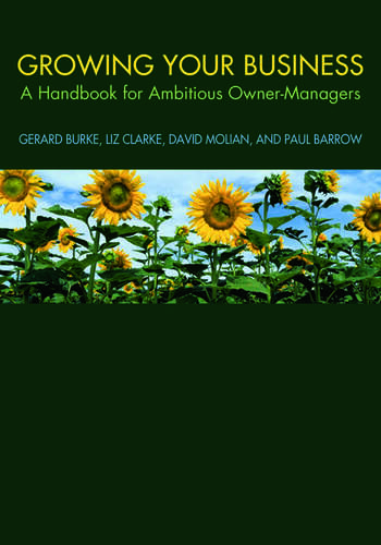 Growing your Business A Handbook for Ambitious Owner-Managers book cover
