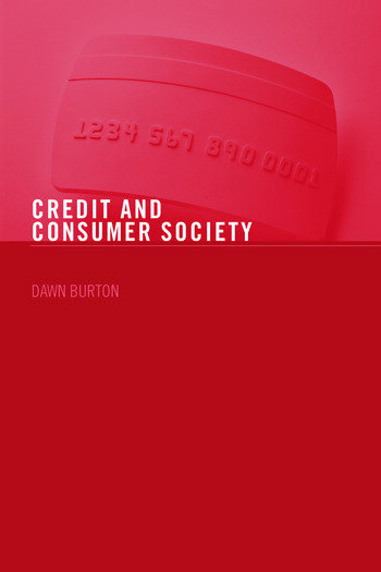 Credit and Consumer Society book cover