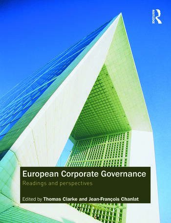 European Corporate Governance Readings and Perspectives book cover