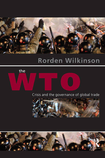 The WTO Crisis and the Governance of Global Trade book cover