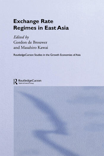 Exchange Rate Regimes in East Asia book cover