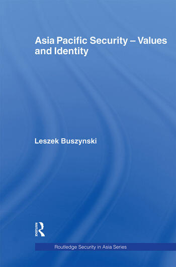 Asia Pacific Security - Values and Identity book cover