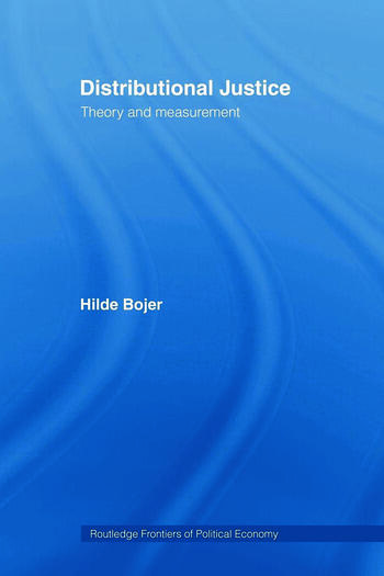 Distributional Justice Theory and Measurement book cover