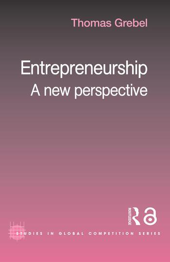 Entrepreneurship A New Perspective book cover