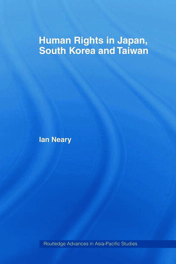 Human Rights in Japan, South Korea and Taiwan book cover