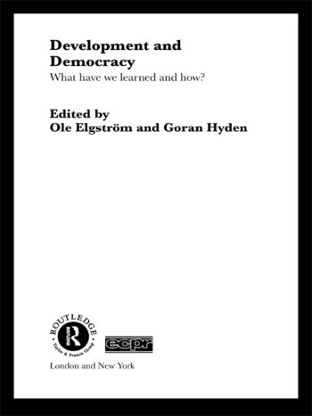 Development and Democracy What Have We Learned and How? book cover