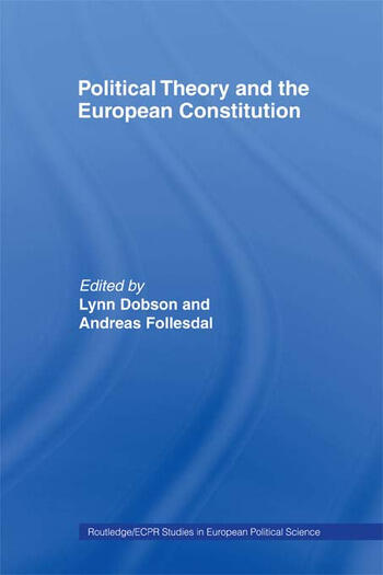 Political Theory and the European Constitution book cover