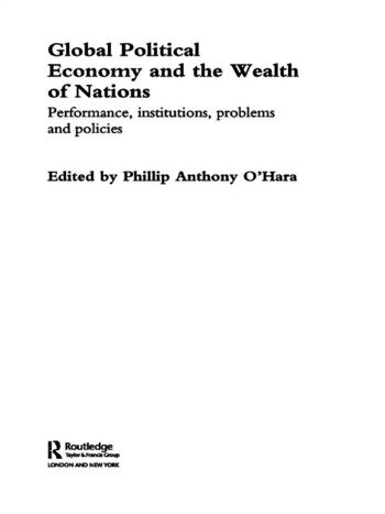 Global Political Economy and the Wealth of Nations Performance, Institutions, Problems and Policies book cover