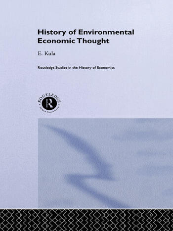 History of Environmental Economic Thought book cover