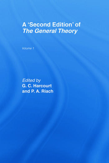 A Second Edition of The General Theory Volume 1 book cover