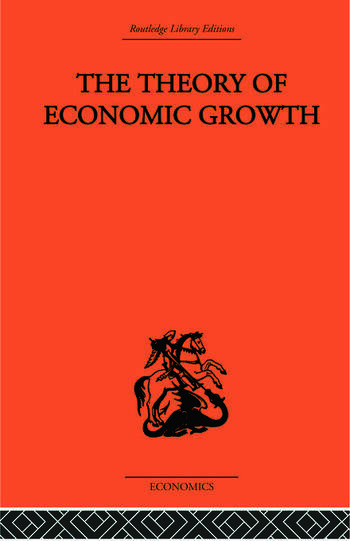 Theory of Economic Growth book cover