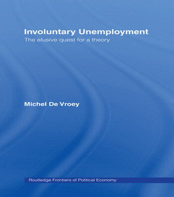 Involuntary Unemployment book cover