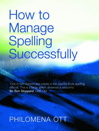 How to Manage Spelling Successfully book cover