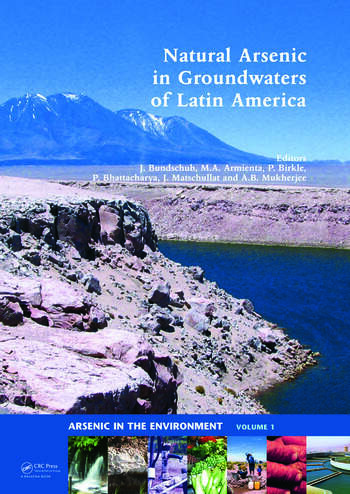 Natural Arsenic in Groundwaters of Latin America book cover