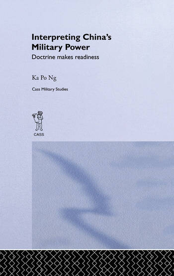 Interpreting China's Military Power Doctrine Makes Readiness book cover