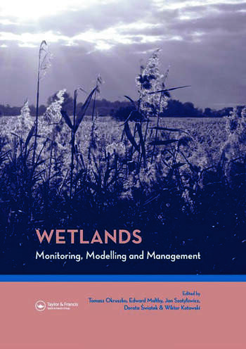 Wetlands: Monitoring, Modelling and Management book cover