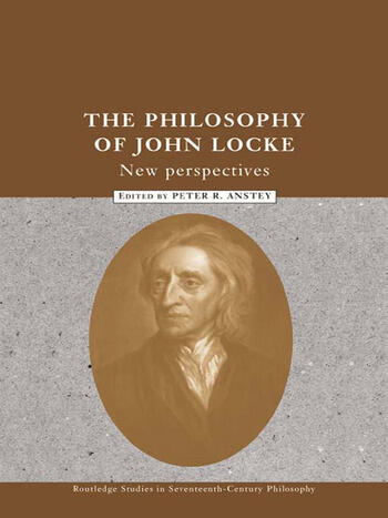 The Philosophy of John Locke New Perspectives book cover