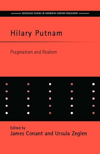 Hilary Putnam Pragmatism and Realism book cover
