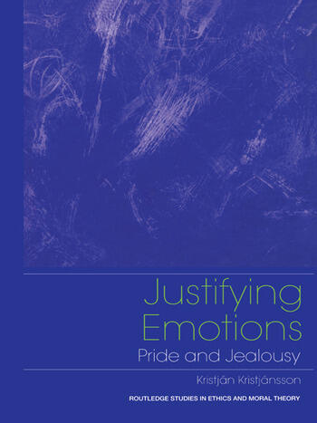 Justifying Emotions Pride and Jealousy book cover