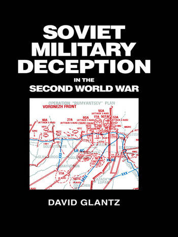 Soviet Military Deception in the Second World War book cover
