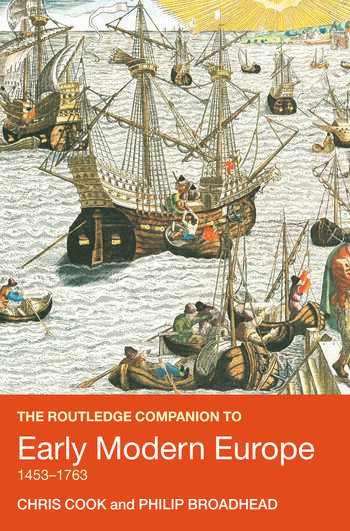 The Routledge Companion to Early Modern Europe, 1453-1763 book cover