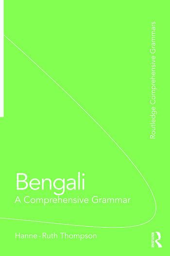 Bengali: A Comprehensive Grammar book cover