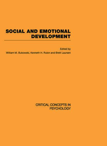 Social and Emotional Development book cover