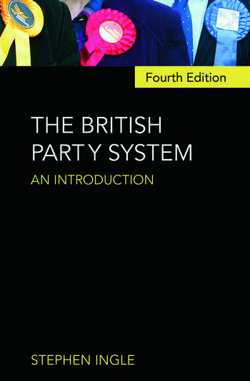 The British Party System An introduction book cover