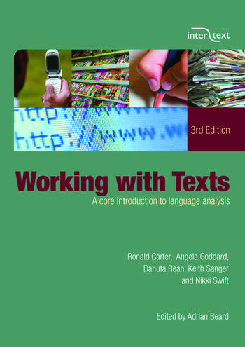 Working with Texts A Core Introduction to Language Analysis book cover