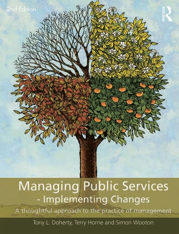 Managing Public Services - Implementing Changes A thoughtful approach to the practice of management book cover