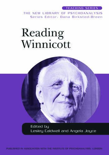Reading Winnicott book cover