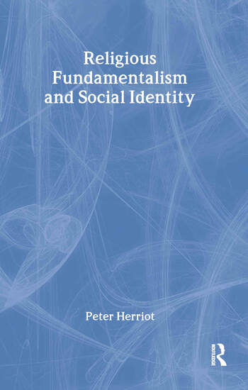 Religious Fundamentalism and Social Identity book cover