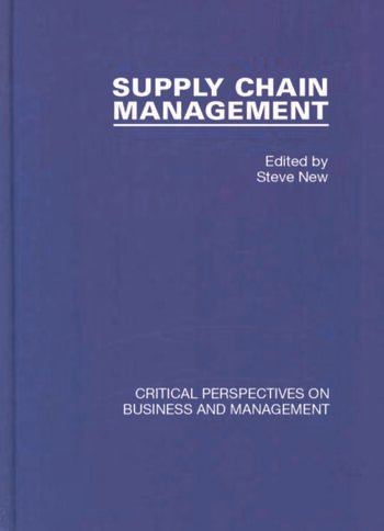 Supply Chain Management book cover