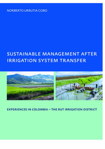 Sustainable Management After Irrigation System Transfer PhD: UNESCO-IHE Institute, Delft book cover