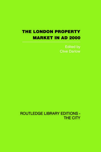 The London Property Market in AD 2000 book cover