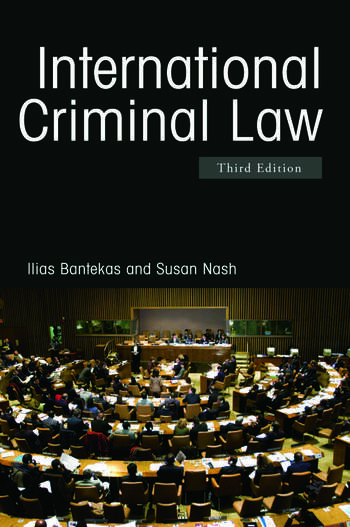 International Criminal Law book cover