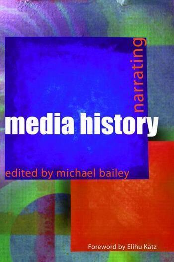 Narrating Media History book cover