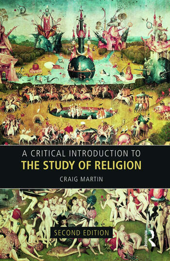 A Critical Introduction to the Study of Religion book cover