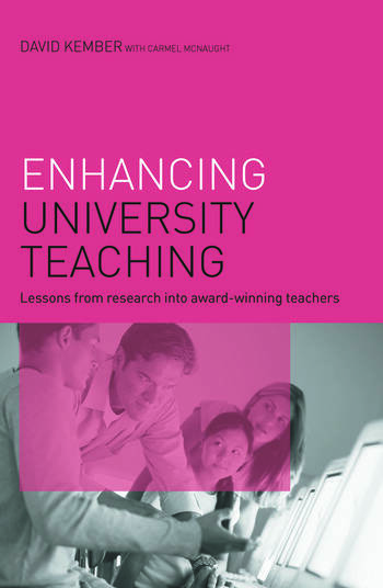 Enhancing University Teaching Lessons from Research into Award-Winning Teachers book cover