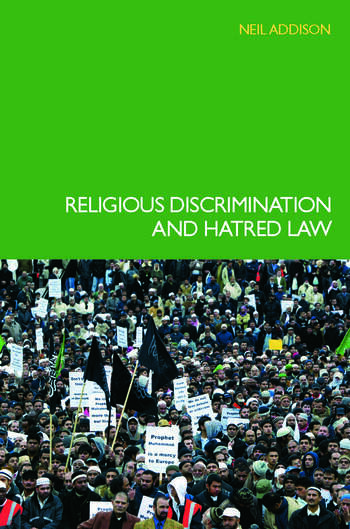 Religious Discrimination and Hatred Law book cover