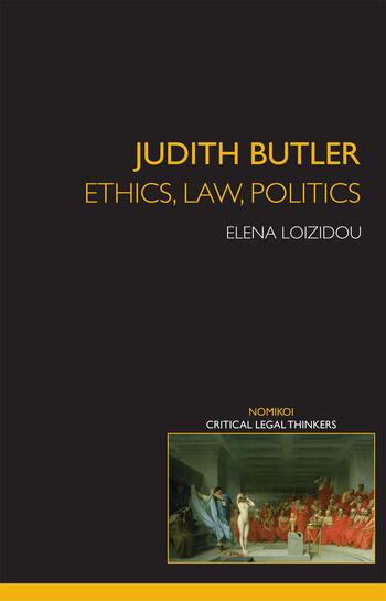 Judith Butler: Ethics, Law, Politics book cover